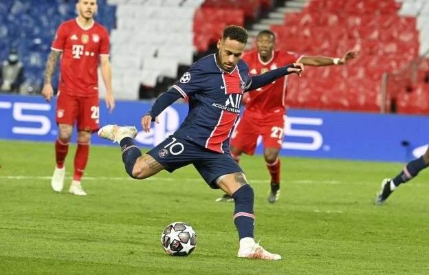 نيمار لاعب الاسبوع في دوري أبطال أوروبا