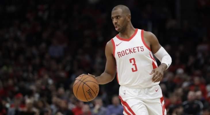 NBA: الروكتس يحافظ على الفارق مع الواريرز وميامي يقترب من كليفلاند