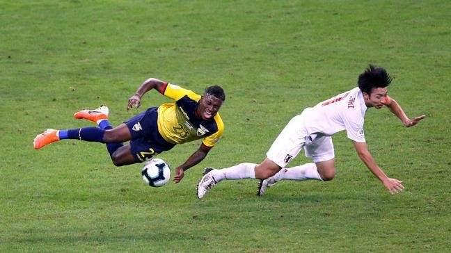 هدفا مباراة اليابان والاكوادور في كوبا اميركا