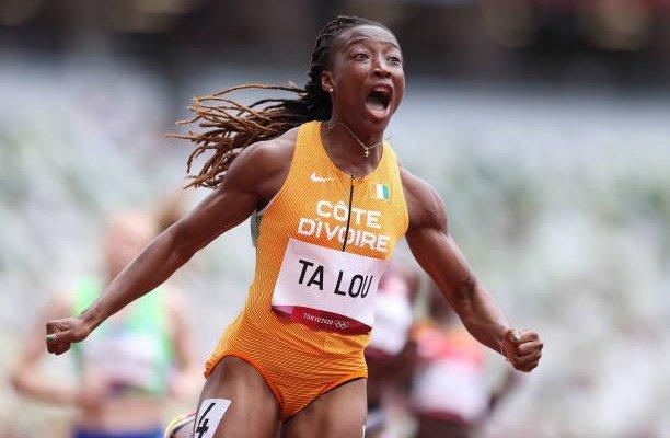 طوكيو 2020: ماري جوزيه تالو تحطم رقماً قياسياً في سباق 100 متر