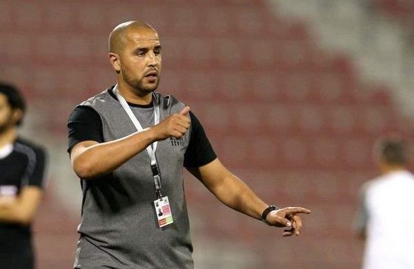 الفجيرة يقدم مدربه الجديد الجزائري مجيد بوقرة