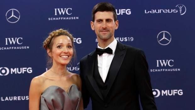 شفاء ديوكوفيتش وزوجته من فيروس كورونا