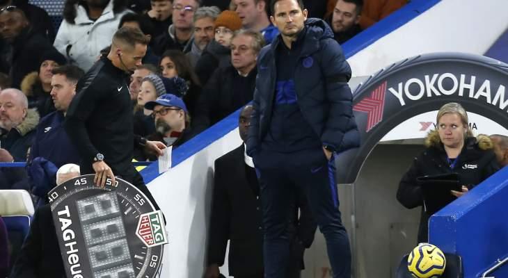 لامبارد يشعر بخيبة امل بعد الهزيمة امام ويست هام يونايتد