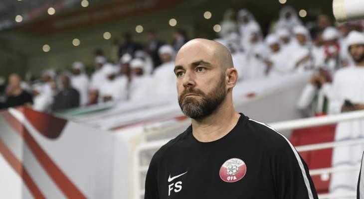 سانشيز يعلق على مجموعة قطر في الكأس الذهبية