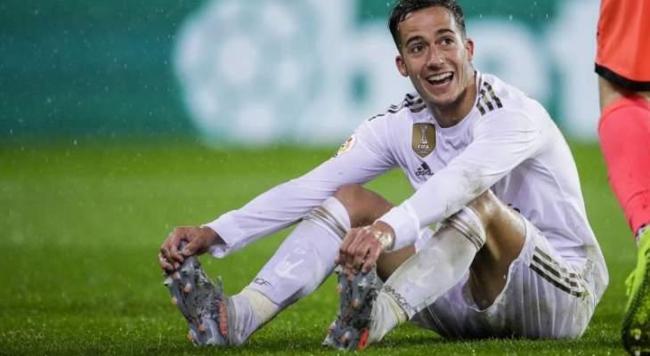 اصابة جديدة تضرب نادي ريال مدريد