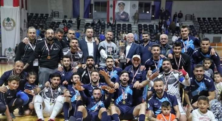 متى ستقام المباراة الاولى بين الجيش وبنك بيروت في نهائي بطولة لبنان للصالات؟
