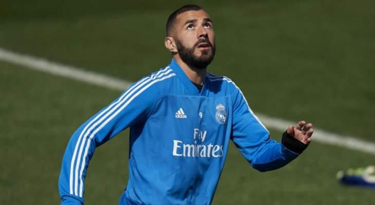 عودة بنزيما الى تدريبات ريال مدريد