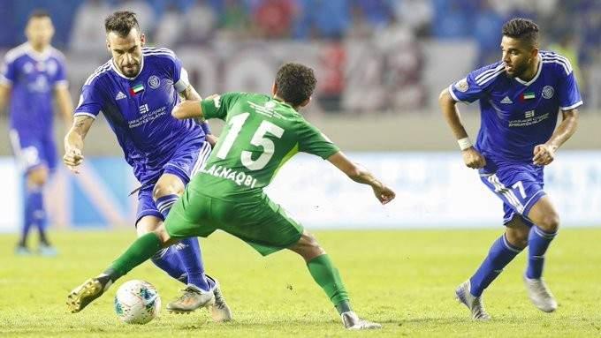 الدوري الاماراتي: فوز ثمين للنصر على شباب الأهلي دبي