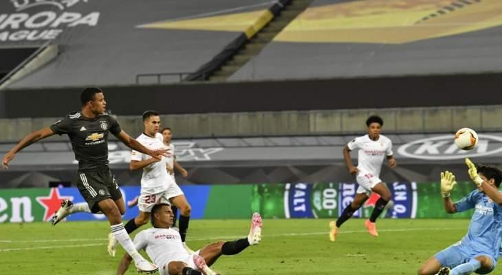 ياسين بونو حرم اليونايتد من الفوز ودي خيا اخطأ في الهدف الاول