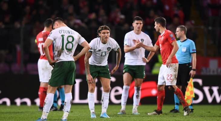 حقائق وأرقام عن منتخبي إيرلندا وسويسرا