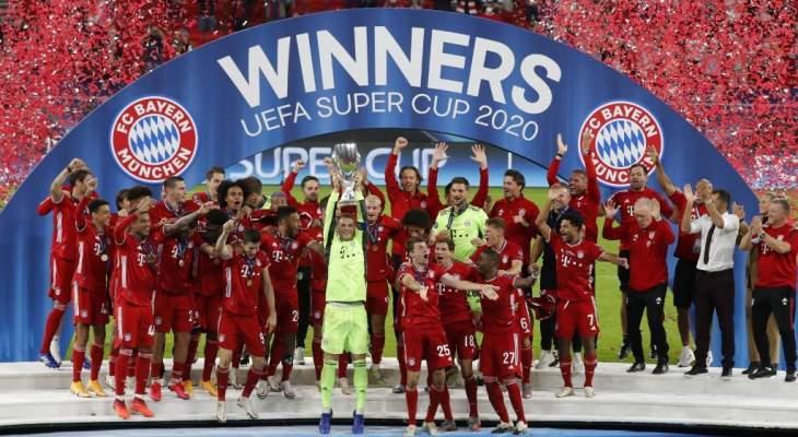 خاص: خبرة البايرن منحته التفوق على اشبيلية وحسمت لقب كأس السوبر الأوروبي