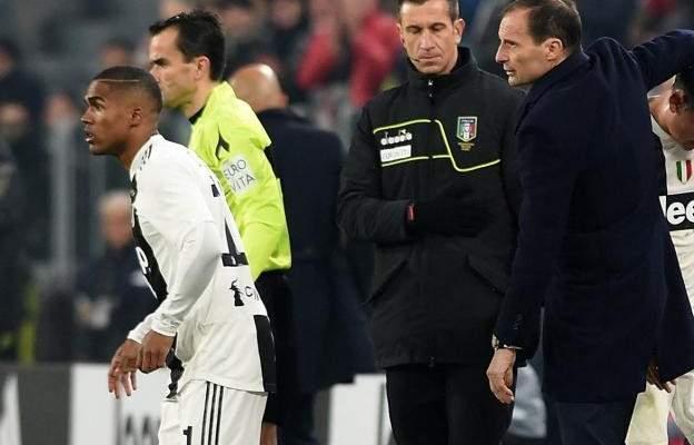 يوفنتوس يخسر دوغلاس كوستا امام اتلتيكو مدريد