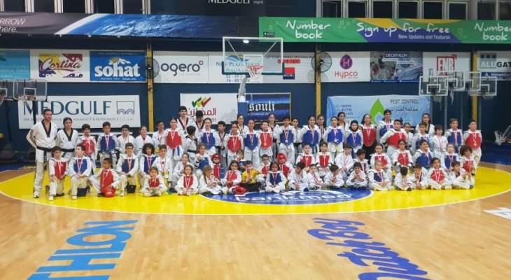 ورشة عمل بالتايكواندو في نادي الرياضي - بيروت