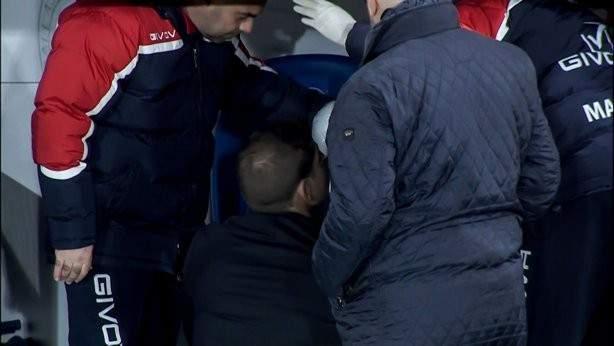 اصابة مدرب منتخب مالطا في لقاء اسبانيا