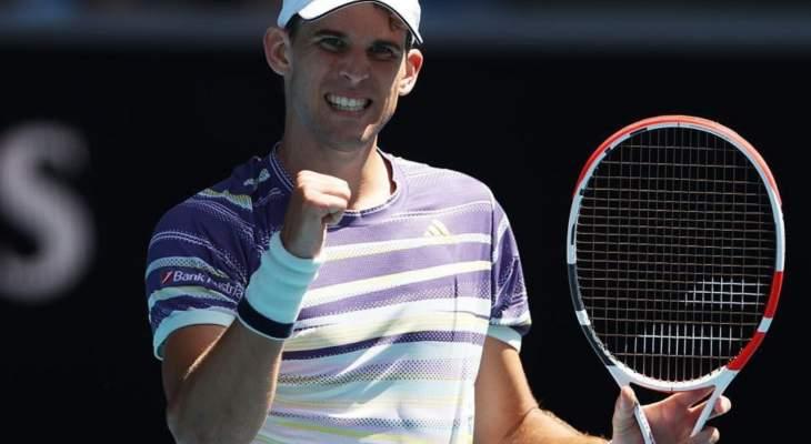 أستراليا المفتوحة: ثيم يهزم مونفيس في طريقه الى ربع النهائي