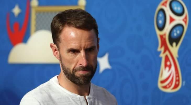 مدرب انكلترا يركز على لقاء كرواتيا