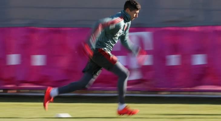 تدريبات بايرن ميونيخ تشهد غياب 3 لاعبين
