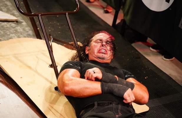 نقل هاردي إلى المستشفى بعد مباراته مع غيفارا