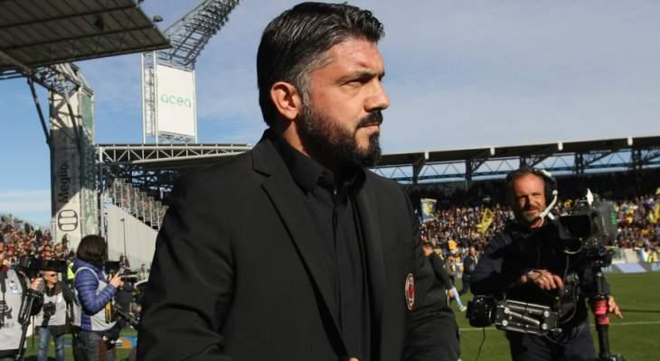 غاتوزو ليس قلقا بسبب عقده مع ميلان
