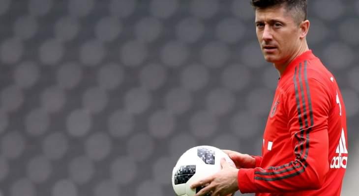 ليفاندوفسكي : ساني لاعب رائع ويملك إمكانيات فنية عالية