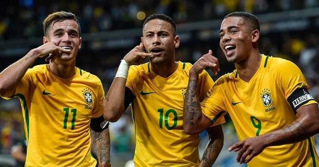 البرازيل بكامل نجومها لمواجهة بوليفيا والبيرو