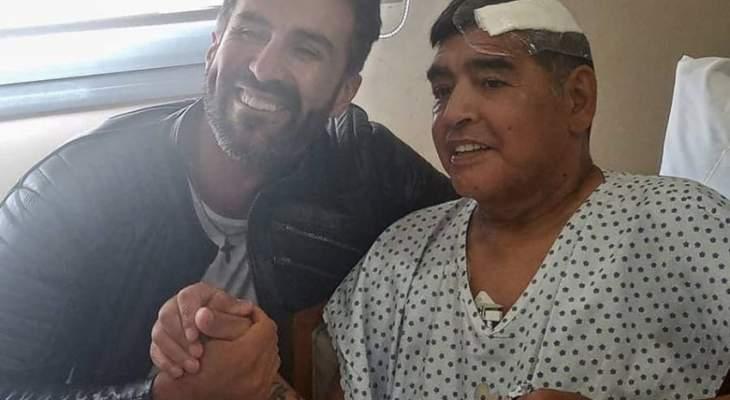 مارادونا طرد طبيبه من المنزل قبل أيام على وفاته