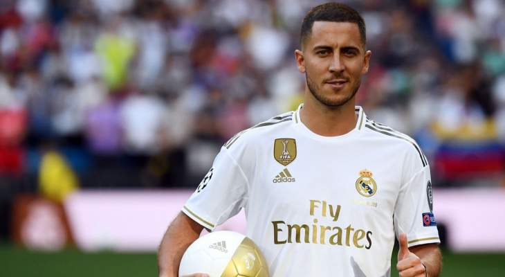 هازارد افضل لاعب في الدوري الاوروبي