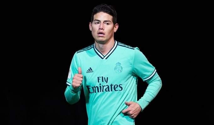 ميلان يغري ريال مدريد للتخلي عن جايمس