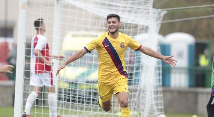 برشلونة يمدد عقد مورينو حتى 2023