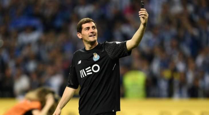كاسياس يطرق باب ريال مدريد مجدداً