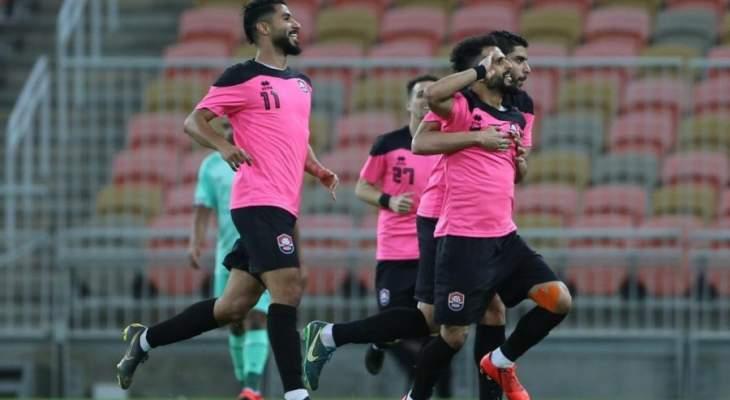 الرائد يقهر الاهلي في مباراة التسعة اهداف بالدوري السعودي