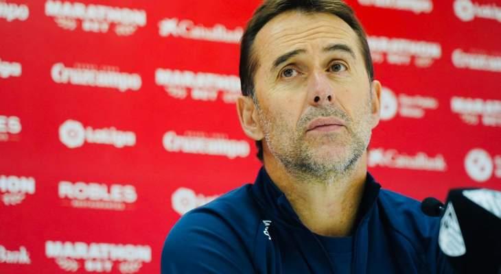 لوبيتيغي يتحدث عن موقعة ريال مدريد والممر الشرفي