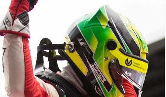 ميك شوماخر في صدارة بطولة الفورمولا 3 الأوروبية