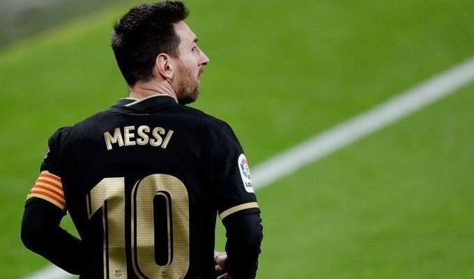 ميسي يغيب عن برشلونة في السوبر الاسباني