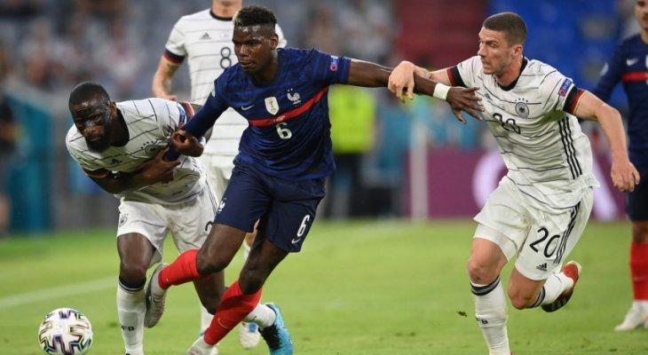 بوغبا رجل مباراة فرنسا-ألمانيا