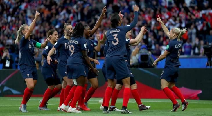 كأس العالم للسيدات: فرنسا تعزز صدارتها بتخطي النروج