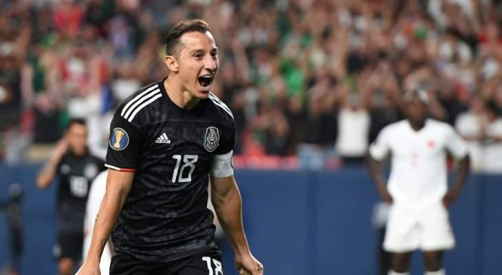 الكأس الذهبية: ثنائية غواردادو تقود المكسيك للفوز على كندا