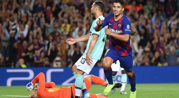 تقييم اداء لاعبي مباراة برشلونة - الانتر