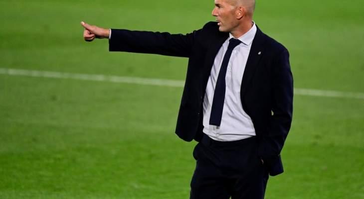 زيدان سعيد بلاعبيه ولا يرى ان برشلونة سيخسر امام اشبيلية