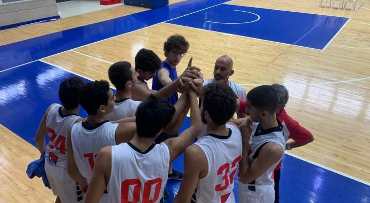 منتخبا لبنان للذكور والاناث دون 17 سنة  بكرة السلة الى الدور نصف النهائي