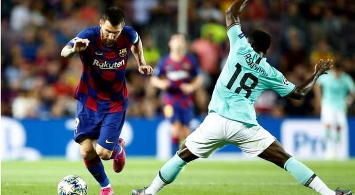 ضربة قوية لإنتر ميلان قبل مواجهة برشلونة