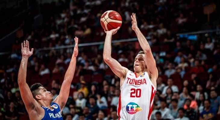 مونديال السلة: تونس تفوز على فليبين وإسبانيا تتأهل على حساب إيطاليا