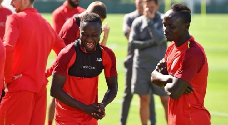 ليفربول يخوض حصة تدريبية بدون لاعبيه الدوليين