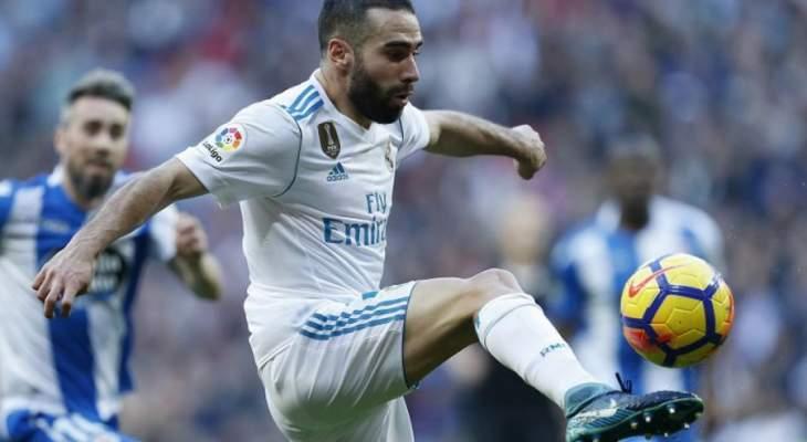 رسمياً: ريال مدريد يخسر خدمات كارفاخال أمام الـPSG
