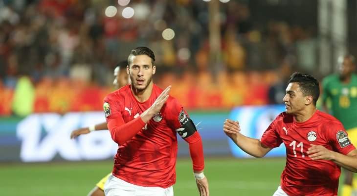 نوبة بكاء لرمضان صبحي بعد تأهل مصر
