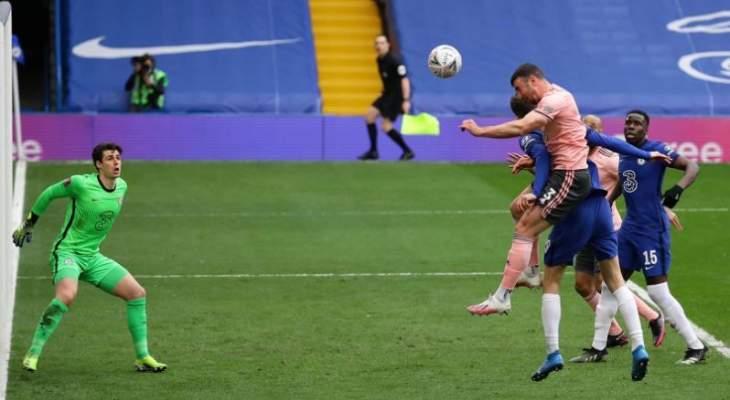كأس الإتحاد الإنكليزي: تشيلسي يعبر إلى دور نصف النهائي بثنائية أمام شيفيلد