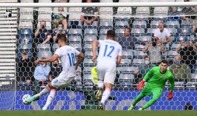 يورو 2020: تشيكيا تقترب من دور الـ16 بعد تعادلها امام كرواتيا