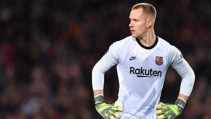 برشلونة يبدأ مفاوضات تمديد عقد شتيغن