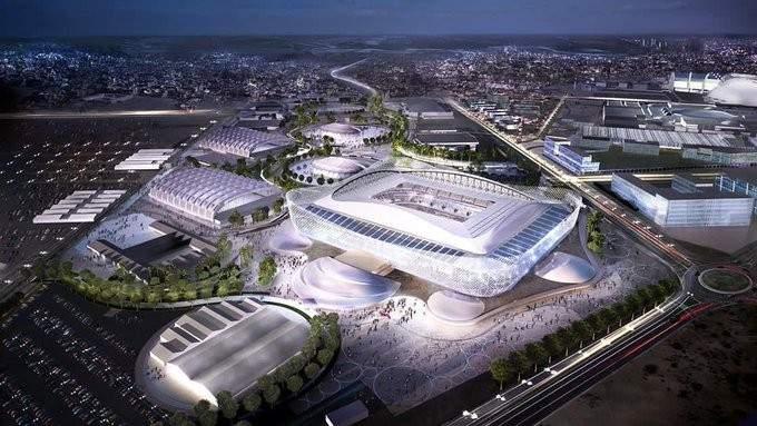 استاد الريان المونديالي يحتضن نهائي كأس أمير قطر