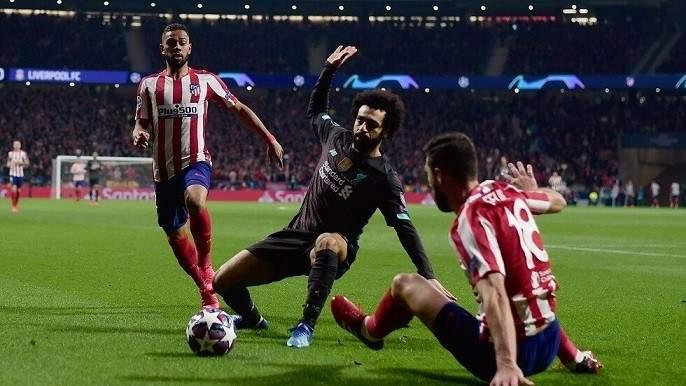 إصابة لاعب أتلتيكو مدريد بفيروس كورونا